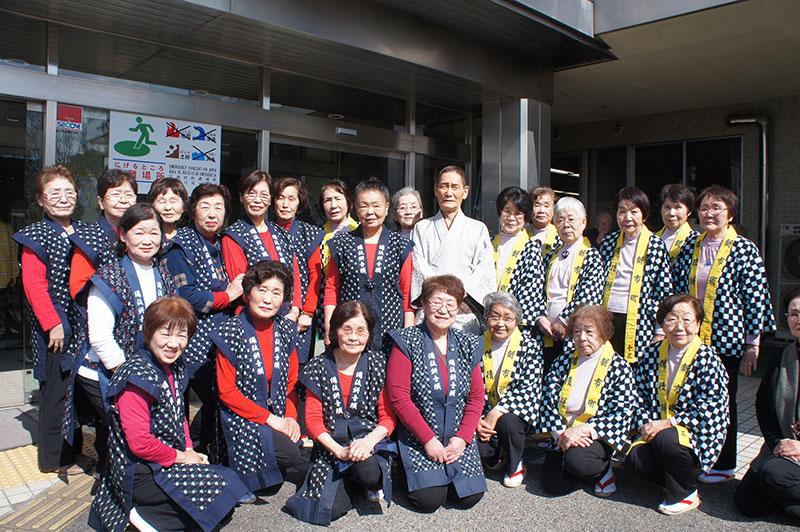 昭和の歌と踊りの集い 一節太郎さんと