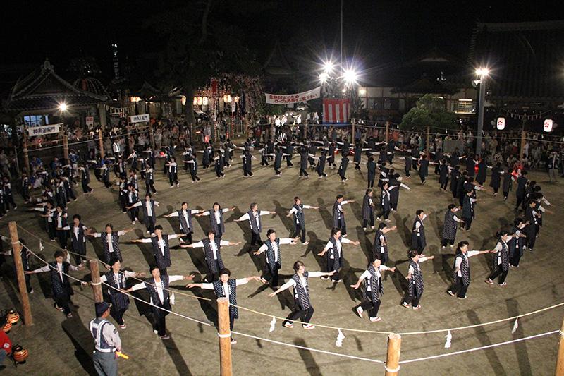 素盞嗚神社 祇園大祭踊り奉納1