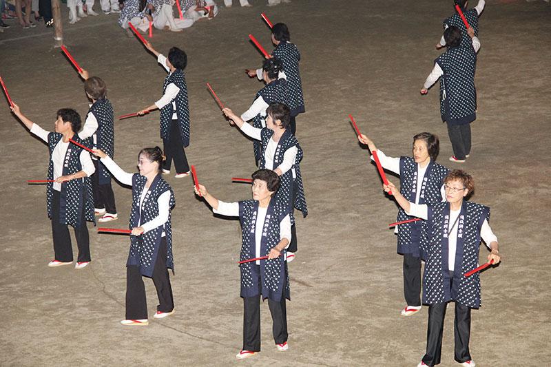 素盞嗚神社 祇園大祭踊り奉納2