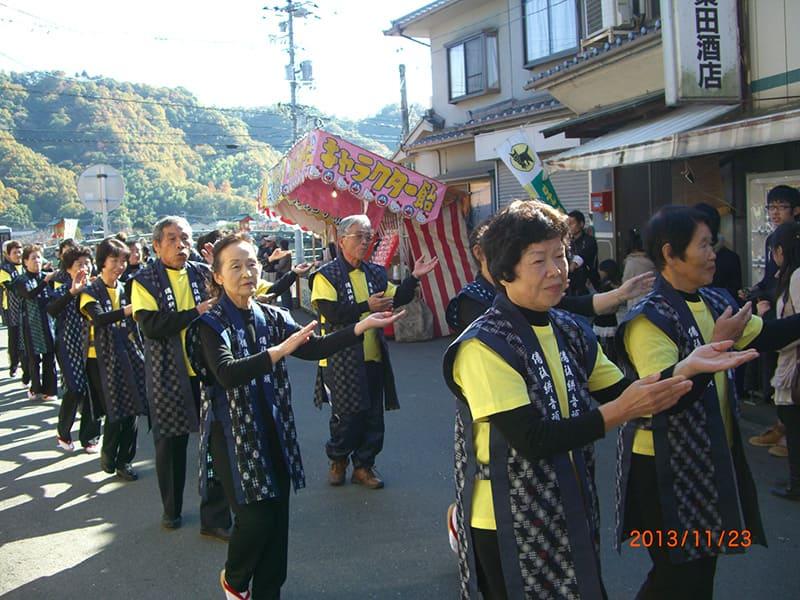備後吉備津神社 市立大祭踊り奉納3