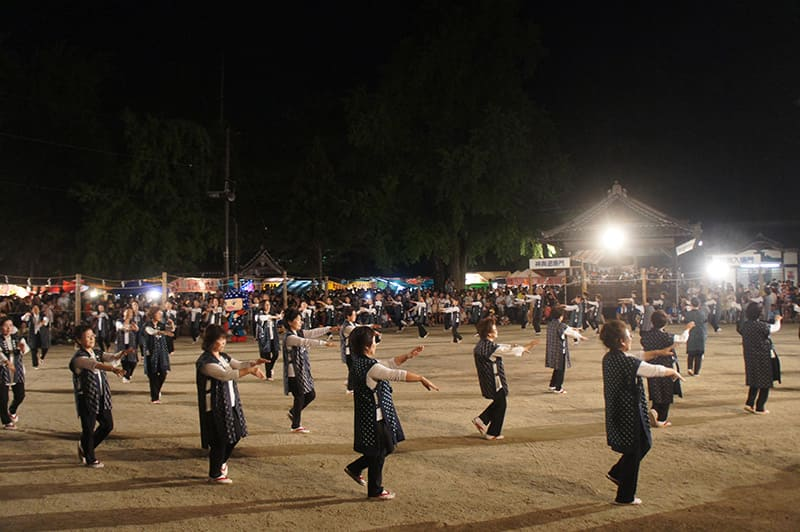 素盞嗚神社 祇園大祭踊り奉納6