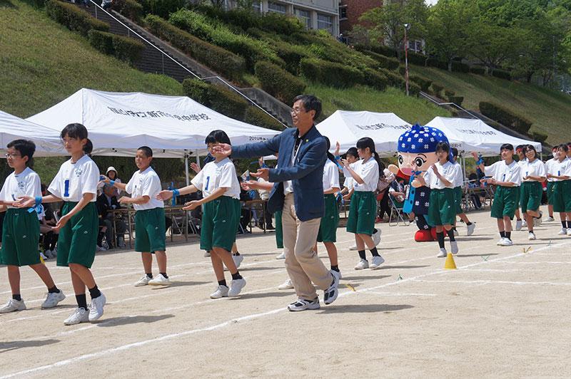 中央中学校運動会3