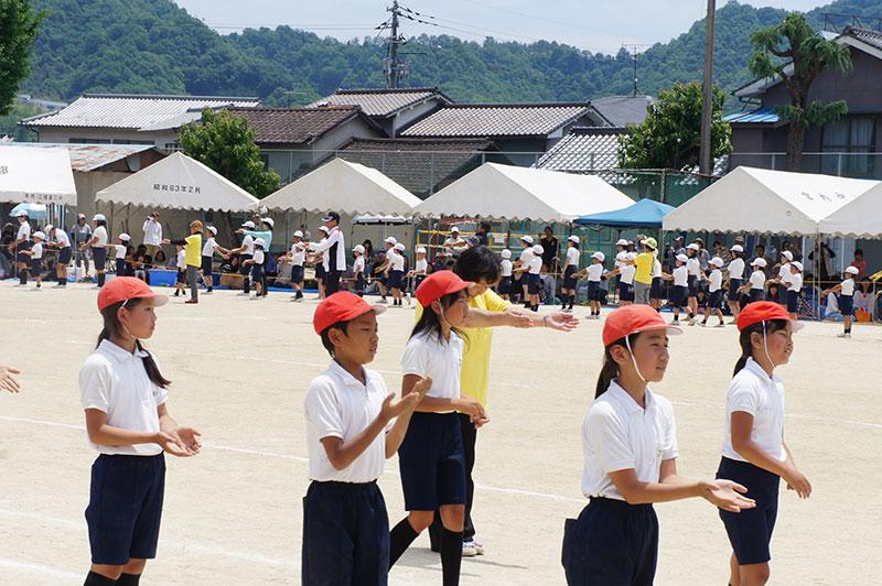 網引小学校運動会3